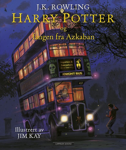Harry Potter (dl 3) og fangen fra Azkanban (pocket)