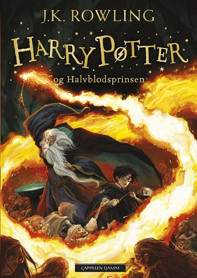 Harry Potter (dl 6) og halvblodsprinsen (pocket)