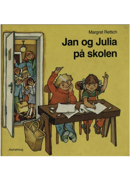 Jan og Julia på skolen (ingeb/2e hands)